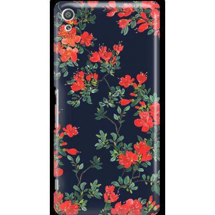 Etui na telefon Sony Xperia XA Ultra Czerwone Kwiaty