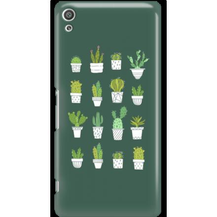 Etui na telefon Sony Xperia XA Ultra Kaktusy