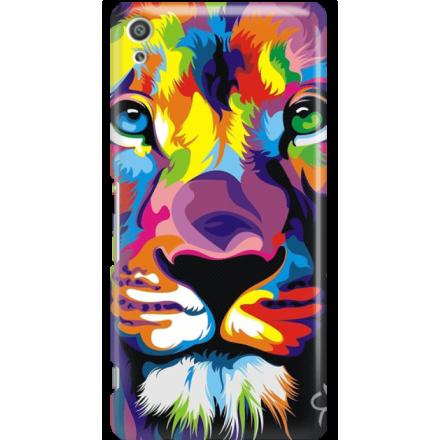 Etui na telefon Sony Xperia XA Ultra Kolorowy Lew