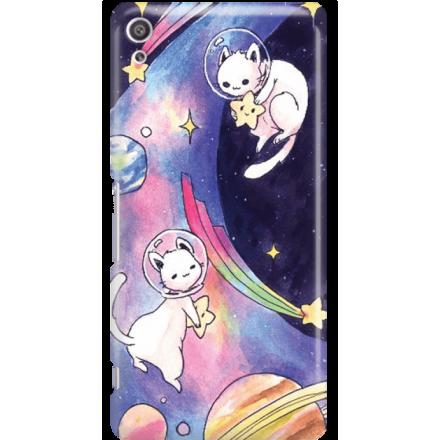 Etui na telefon Sony Xperia XA Ultra Kosmiczne Koty