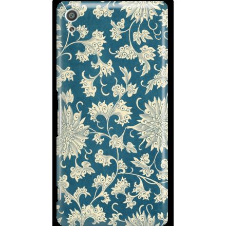 Etui na telefon Sony Xperia XA Ultra Kwiaty Ornamenty