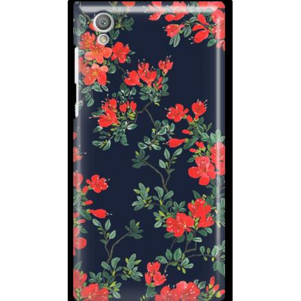 Etui na telefon Sony Xperia L1 Czerwone Kwiaty