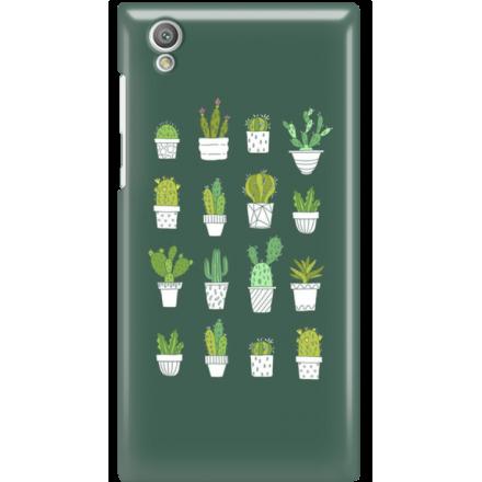 Etui na telefon Sony Xperia L1 Kaktusy