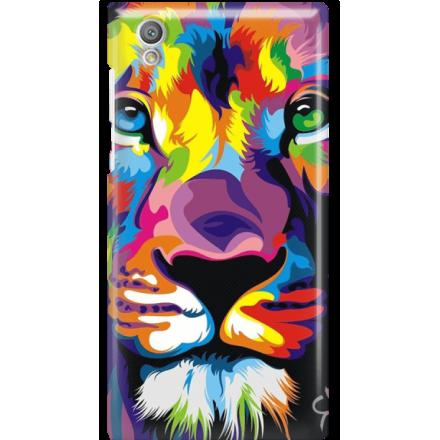 Etui na telefon Sony Xperia L1 Kolorowy Lew