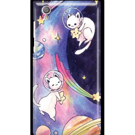 Etui na telefon Sony Xperia L1 Kosmiczne Koty
