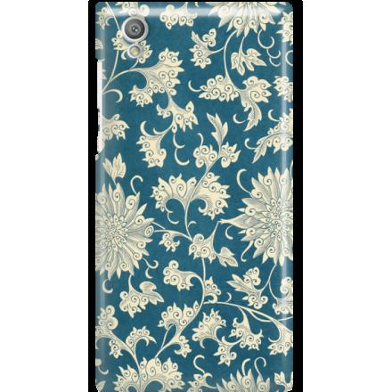 Etui na telefon Sony Xperia L1 Kwiaty Ornamenty