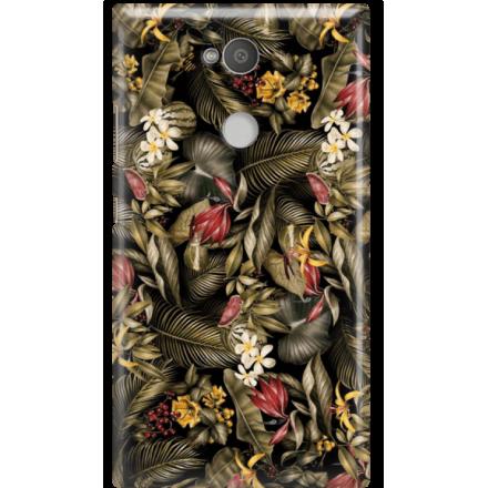 Etui na telefon Sony Xperia L2 Egzotyczne Rośliny