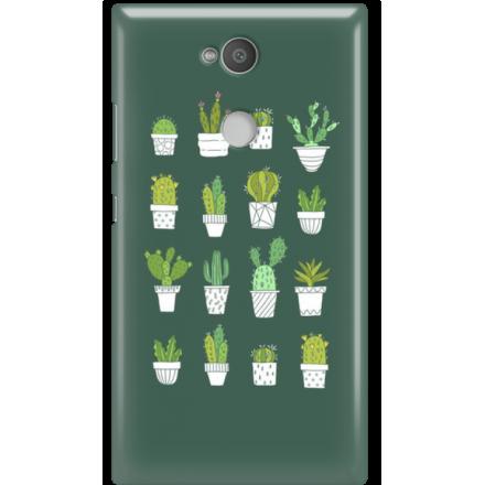 Etui na telefon Sony Xperia L2 Kaktusy