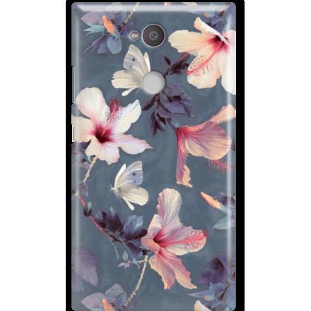 Etui na telefon Sony Xperia L2 Kwiatowy Ogród