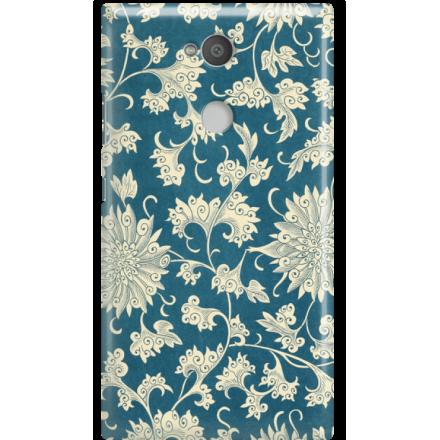 Etui na telefon Sony Xperia L2 Kwiaty Ornamenty