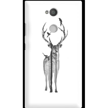 Etui na telefon Sony Xperia L2 Leśny Jeleń
