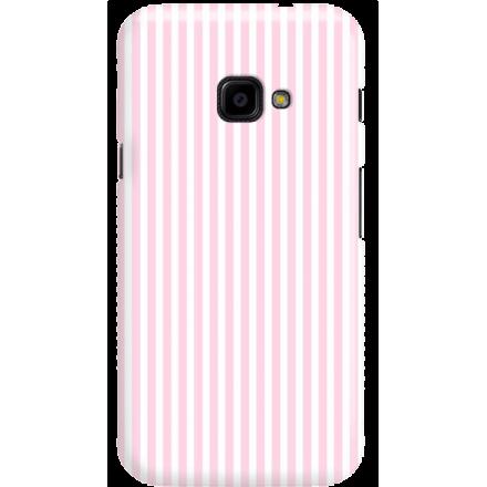 Etui na telefon Samsung Galaxy Xcover 4 Candy Różowe Paski