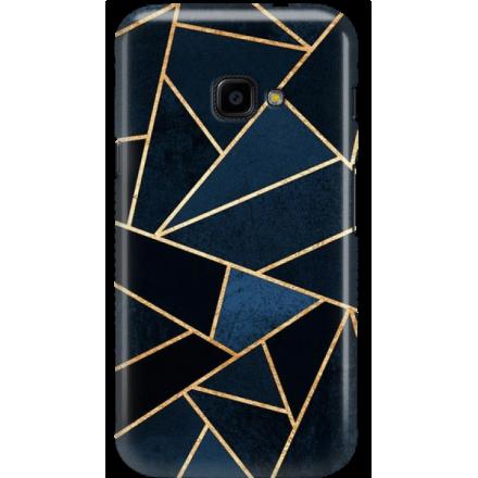 Etui na telefon Samsung Galaxy Xcover 4 Geometyczne Indygo