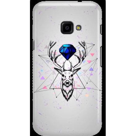 Etui na telefon Samsung Galaxy Xcover 4 Jeleń Geometryczny
