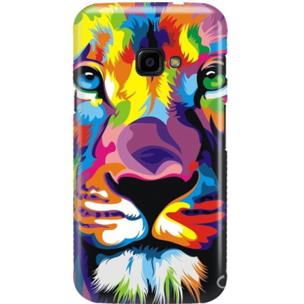 Etui na telefon Samsung Galaxy Xcover 4 Kolorowy Lew