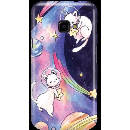 Etui na telefon Samsung Galaxy Xcover 4 Kosmiczne Koty
