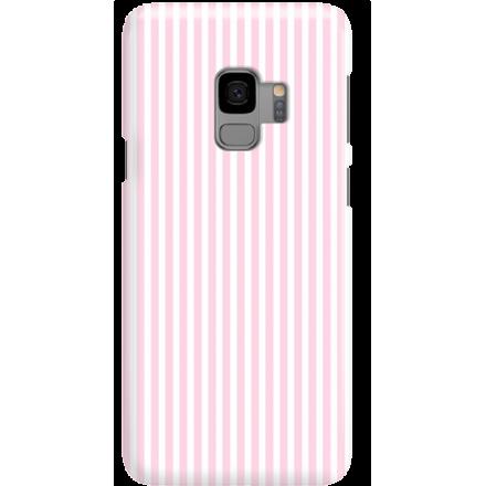 Etui na telefon Samsung Galaxy S9 Candy Różowe Paski