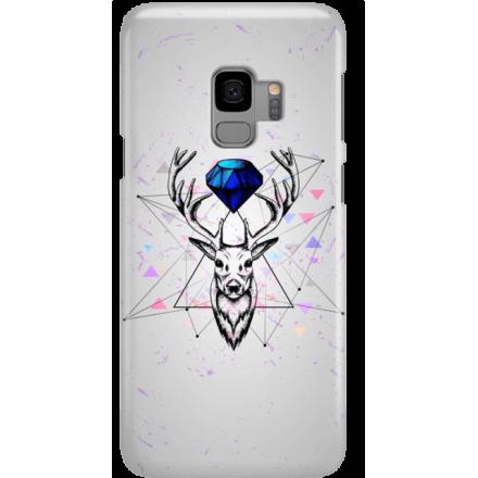 Etui na telefon Samsung Galaxy S9 Jeleń Geometryczny