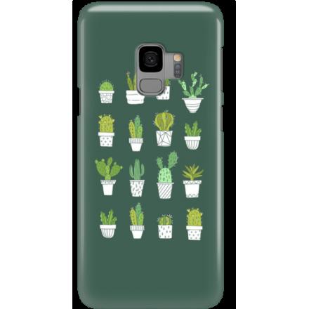 Etui na telefon Samsung Galaxy S9 Kaktusy