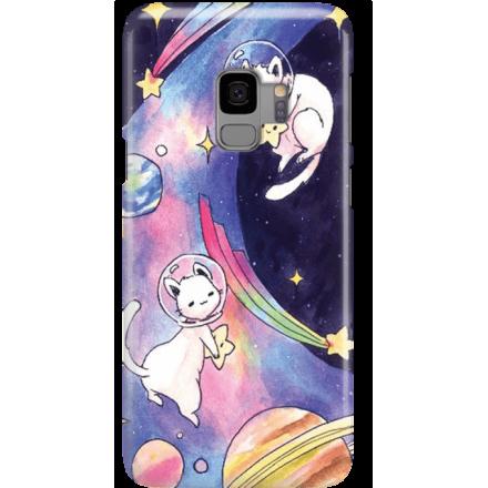 Etui na telefon Samsung Galaxy S9 Kosmiczne Koty