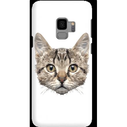 Etui na telefon Samsung Galaxy S9 Kot Geometryczny