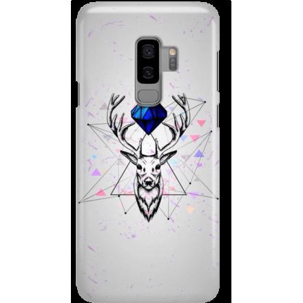 Etui na telefon Samsung Galaxy S9 Plus Jeleń Geometryczny