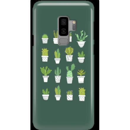 Etui na telefon Samsung Galaxy S9 Plus Kaktusy