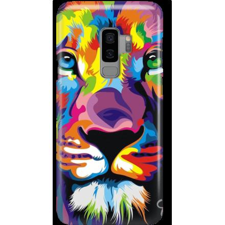 Etui na telefon Samsung Galaxy S9 Plus Kolorowy Lew