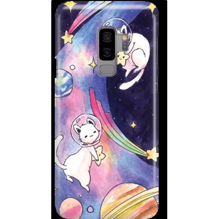 Etui na telefon Samsung Galaxy S9 Plus Kosmiczne Koty