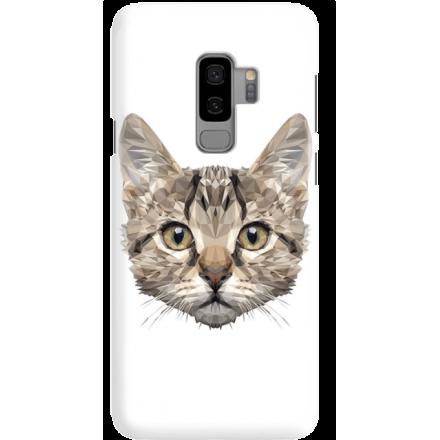 Etui na telefon Samsung Galaxy S9 Plus Kot Geometryczny