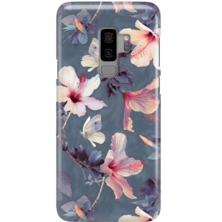Etui na telefon Samsung Galaxy S9 Plus Kwiatowy Ogród
