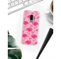 Etui na telefon Samsung Galaxy S9 Plus Różowe Flamingi