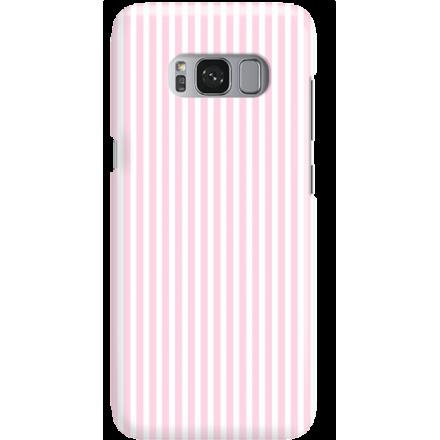 Etui na telefon Samsung Galaxy S8 Candy Różowe Paski