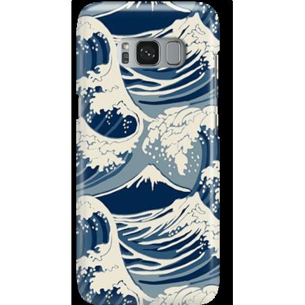 Etui na telefon Samsung Galaxy S8 Japonskie Fale