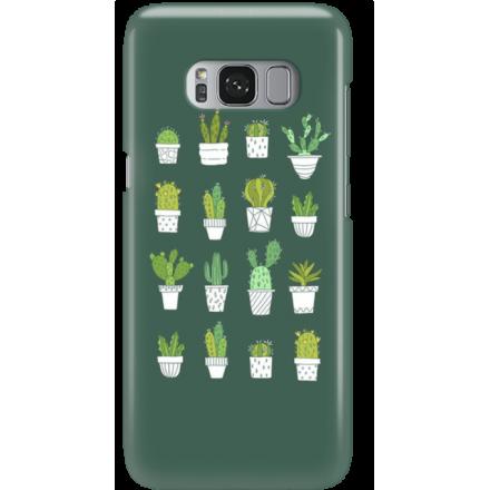 Etui na telefon Samsung Galaxy S8 Kaktusy