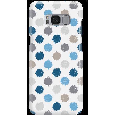 Etui na telefon Samsung Galaxy S8 Malowane Kropki