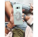 Etui na telefon Samsung Galaxy S8 Unicorn Szczęśliwy Jednorożec