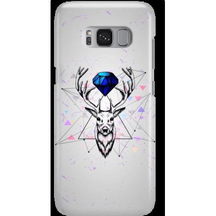 Etui na telefon Samsung Galaxy S8 Plus Jeleń Geometryczny