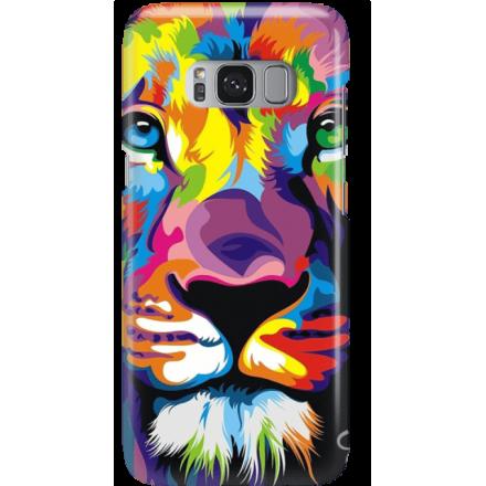 Etui na telefon Samsung Galaxy S8 Plus Kolorowy Lew