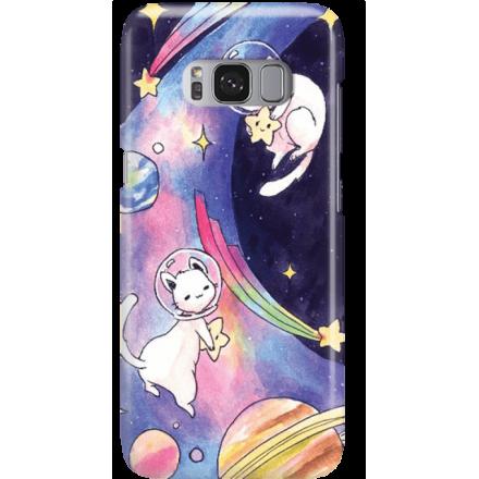 Etui na telefon Samsung Galaxy S8 Plus Kosmiczne Koty