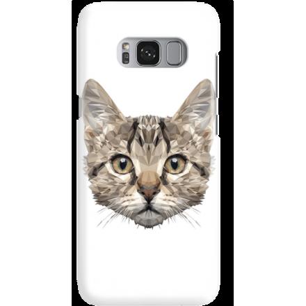 Etui na telefon Samsung Galaxy S8 Plus Kot Geometryczny