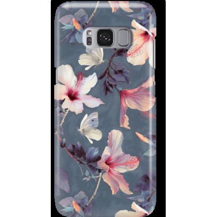 Etui na telefon Samsung Galaxy S8 Plus Kwiatowy Ogród
