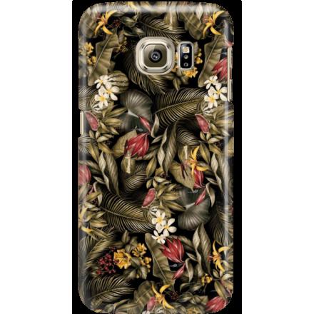 Etui na telefon Samsung Galaxy S6 Edge Egzotyczne Rośliny