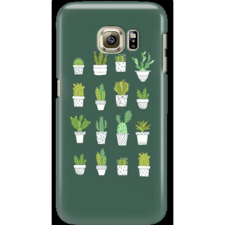 Etui na telefon Samsung Galaxy S6 Edge Kaktusy
