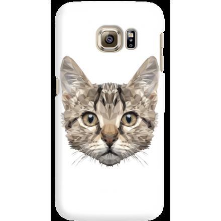 Etui na telefon Samsung Galaxy S6 Edge Kot Geometryczny