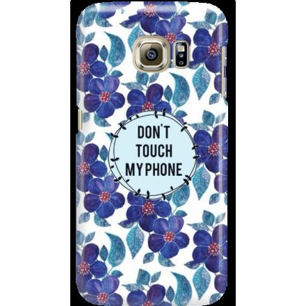 Etui na telefon Samsung Galaxy S6 Edge Kwiaty