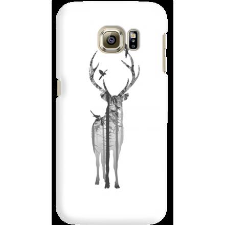 Etui na telefon Samsung Galaxy S6 Edge Leśny Jeleń