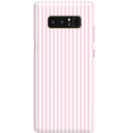 Etui na telefon Samsung Galaxy Note 8 Candy Różowe Paski