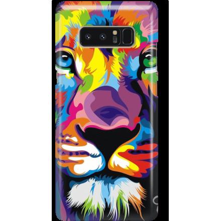 Etui na telefon Samsung Galaxy Note 8 Kolorowy Lew