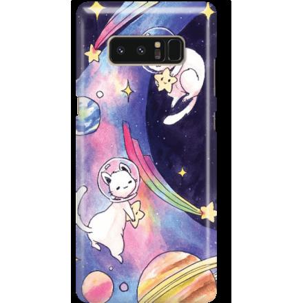 Etui na telefon Samsung Galaxy Note 8 Kosmiczne Koty